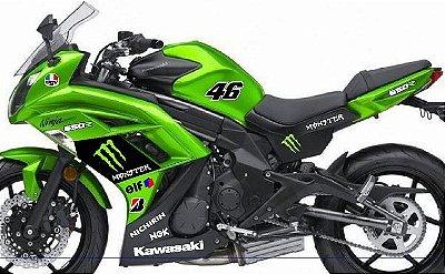 KIT Relação correia dentada Kawasaki Ninja 650 2013/2016