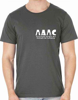 Camiseta AAAC Tradicional - COR GRAFITE