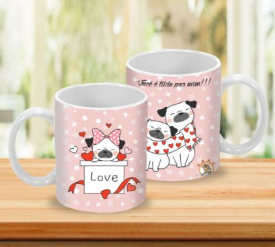 Caneca 325ml  - LOVE