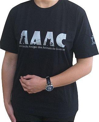 Camiseta AAAC - Preta  Tamanho GG