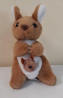 Canguru com Bebê 14cm - Cod 64