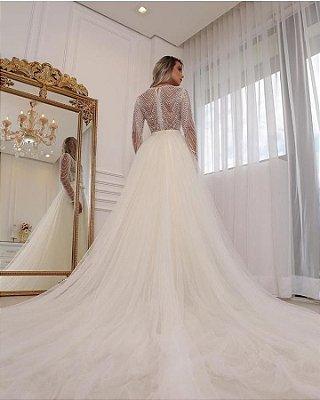 Vestido Noiva sob medida Katherine