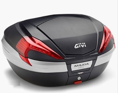 Baú Givi 56L traseiro - modelo V56 NN - Monokey