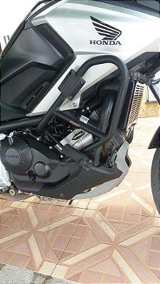 Protetor de Carenagens e motor para NC 700/750 X com Pedaleiras