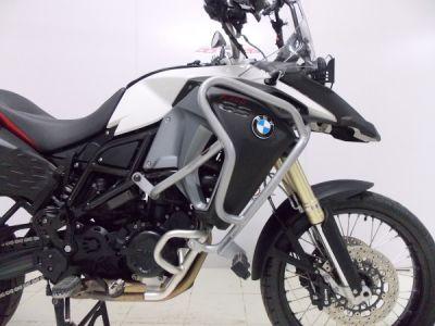 Protetor de motor e carenagens para BMW F800 GS Adventure Prata c/ pedaleiras