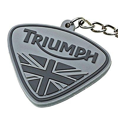 Chaveiro Triumph Original - cinza