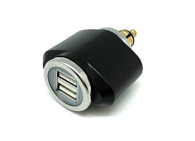 Adaptador de Tomada 12V para duplo USB - mini
