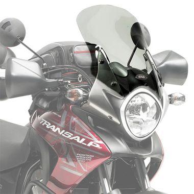 Bolha Alta - Pára-Brisa GIVI para Honda Transalp 700 - TRANSPARENTE