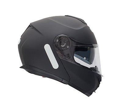 Capacete Givi X21 Modular (escamoteável) Preto Fosco