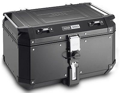 Baú Top-Case Givi 58L - Linha Trekker OUTBACK - Aluminio Preto