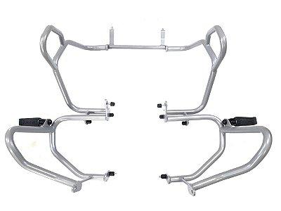 Protetor de motor e Carenagens para BMW R1200 GS - 2017-2019 prata