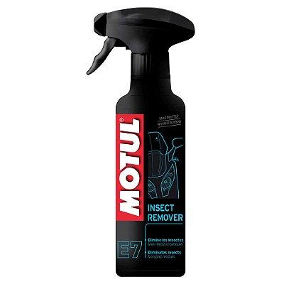Motul E7 - INSECT REMOVER - Limpeza de bolha - carenagem - farol