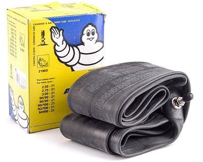 Camara de Ar Michelin - AirStop Butyl - 90/90-21