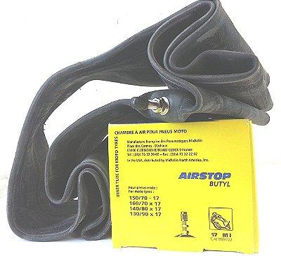 Camara de Ar Michelin - AirStop Butyl - 150/70-17