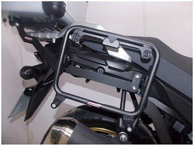 Suporte Lateral para Baus padrão Givi para Vstrom 650 Nova 2018-2019