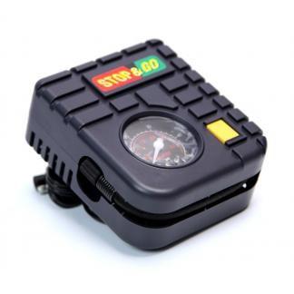 Mini Compressor 12v para Motos - Stop & Go - Compacto Baixa Amperagem