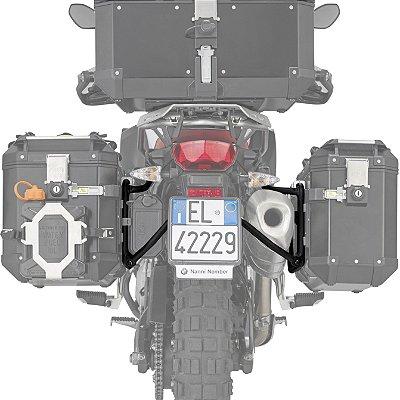 Suporte Lateral de Baús GIVI OUTBACK para BMW F750 e F850 GS