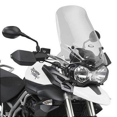 Bolha Alta - Pára-Brisa GIVI para Tiger 800 com kit de instalação