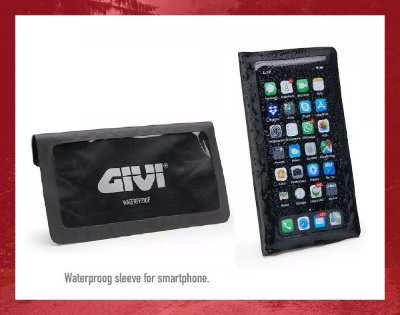 Capa Impermeável Givi Para Celular Smartphone - Lançamento