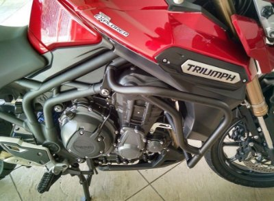 Protetor de Carenagens para Triumph Tiger Explorer 1200 e 1200XC