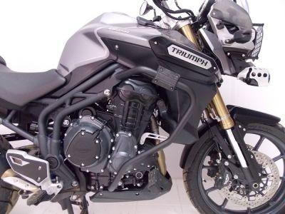 Protetor de Carenagens e motor para Tiger Explorer 1200 com Pedaleiras