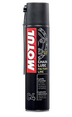 Motul C4 - Chain Lube FACTORY LINE - Spray para lubrificação de corrente