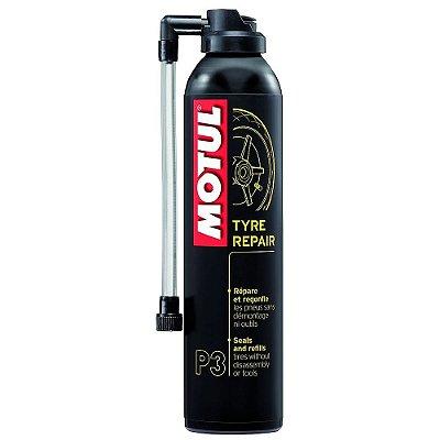 Motul P3 - Tyre Repair - Spray para reparo instantâneo de Pneus
