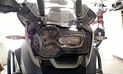 Protetor de Farol para BMW R1200 GS com Lente em Acrílico