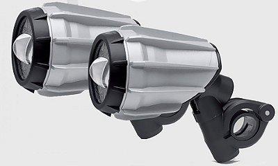 Farol Auxiliar - Kit Faroletes Givi - LED / Aluminio -  Universal