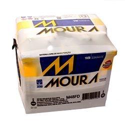 Bateria Moura 48ah (Em até 6x s/juros) (A base de Troca)