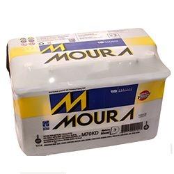 Bateria Moura 70ah - Ampéres (Em até 6x s/juros) (A base de troca)