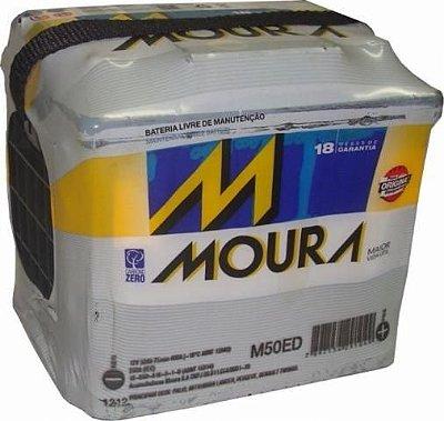 Bateria Moura 50ah - Amperes (Em até 6x s/juros) (A base de Troca)