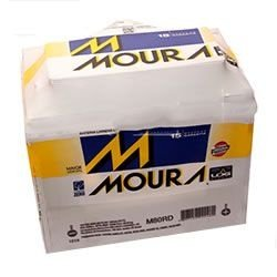 Bateria Moura 80ah (Em até 4x s/juros) (A base de troca)
