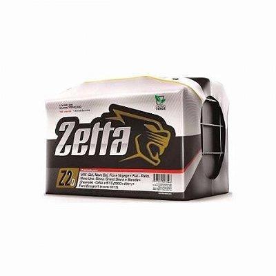 Bateria Zetta 60ah - Ampéres (Em até 6x s/juros) (A base de troca)