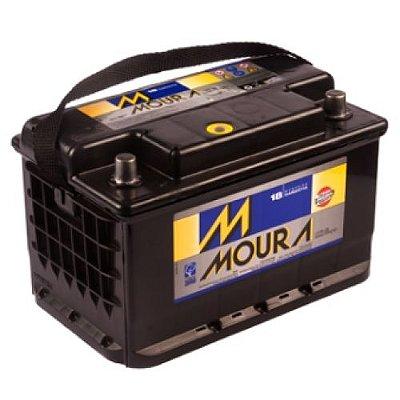 Bateria Moura 75ah - Amperes (Em até 4x s/juros) (A base de troca)