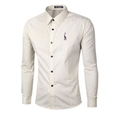 Camisa Masculina Social Slim Chemise