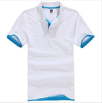 Camisa Polo Masculina Casual