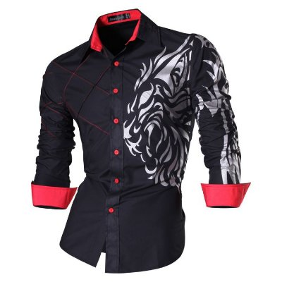 Camisa Masculina Social Slim Fit Collection