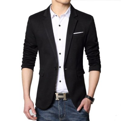 Blazer Masculino Slim Fit Casual