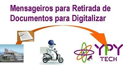07- Mensageiros para Retirada de Documentos Para Digitalização-RDD