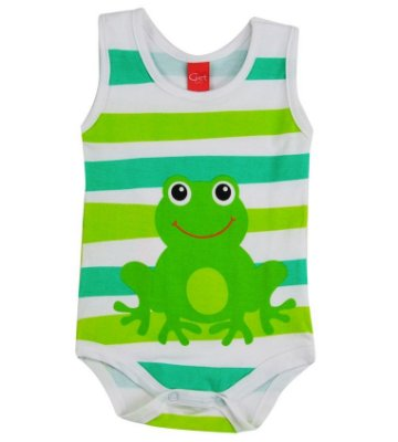 Body Regata Sapinho - GET BABY