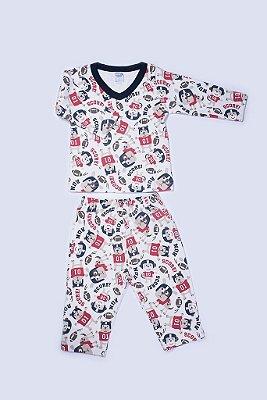 Pijama Manga Longa Beisebol - PIU PIU