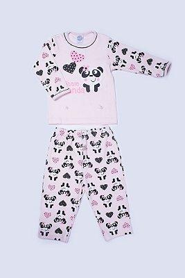 Pijama Manga Longa Little Panda - PIU PIU