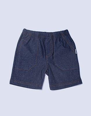 Bermuda Jeans Menino - PIU PIU