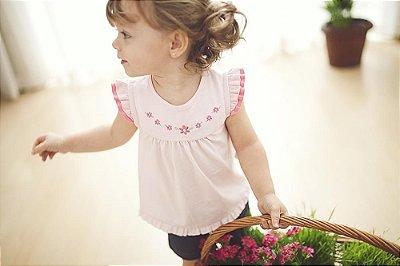 Conjunto Curto Bata Floral - PIU PIU