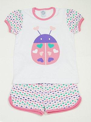 Pijama Curto Joaninha - PIU PIU