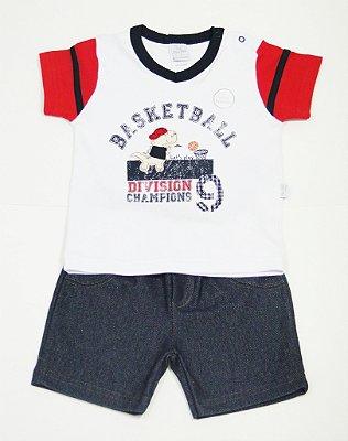 Conjunto Curto Basketball - PIU PIU