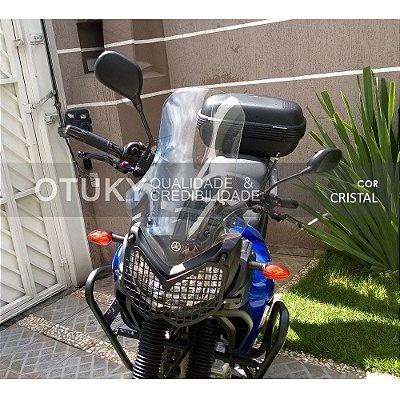 Bolha para Moto Ténéré XTZ 250 2011 2012 2013 2014 2015 2016 - Alongada +10cm