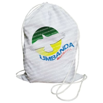 Mochilinha para Guias / Colares / Fios de Contas - Umbanda Brasileira
