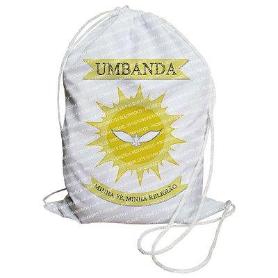 Mochilinha para Guias / Colares / Fios de Contas - Umbanda Minha Fé